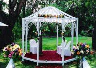 Arches, Gazebos, Umbrellas, Chandeliers, Draping, Fairy Lights, Fire Holders and more... Wedding Décor Function Décor Event Décor